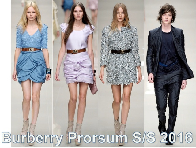 Burberry Prorsum S/S 2016