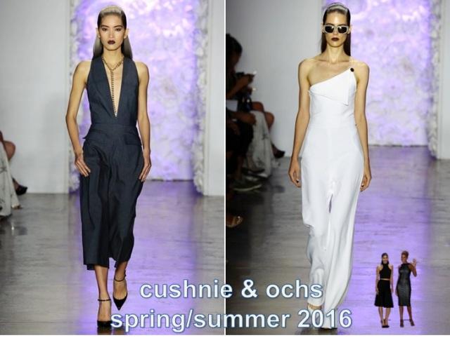 cushnie & Ochs s/s2016