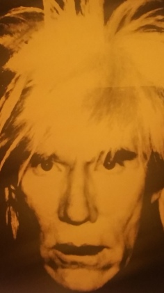 Andy Warhol and Wei Wei at the Nationl Gallery of Victoria